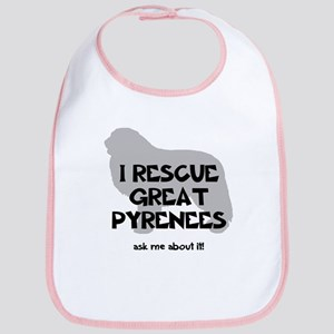 I RESCUE Great Pyrenees Bib